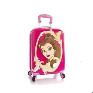 Heys Disney Princess 3D Brand New Exclusive Designed Pink Kids Spinner Luggage