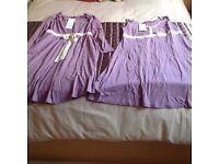 Melba maternity pyjamas, night dress and dressing gown set
