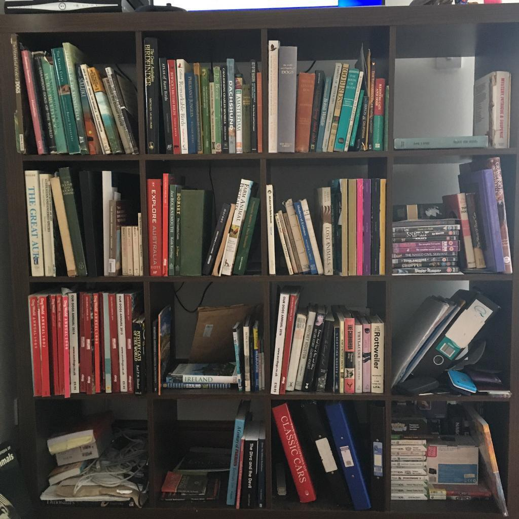 Wooden bookcases for salein Barnstaple, DevonGumtree - Bookcases for sale. Dark brown originally from Ikea. Good condition and sturdy. Suitable for books, CDs, DVDs etct. Collection only near Barnstaple. £25 each