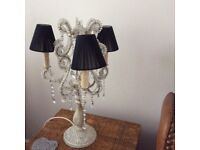 Electric chandelier table lamp