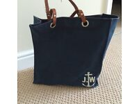 Jack Wills Navy Bag