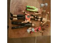 WWE figures. New but not boxed