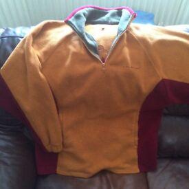 Ladies John partridge fleece and inner jacket