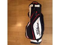 USED TITLEIST GOLF CART BAG