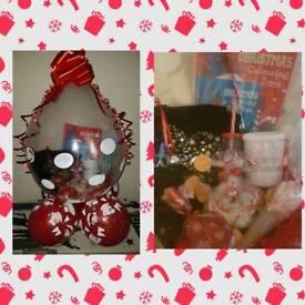 Christmas eve gift balloons
