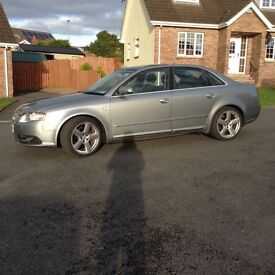 Audi A4 S-Line 2.0 TDI 6Speed New Timing Belt an water pump 4 new tyres mot to October 20017