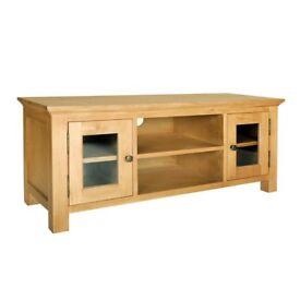 Solid Oak TV Stand / Unit