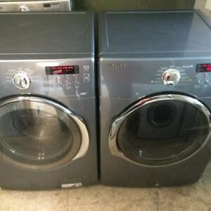 127-     Laveuse Sécheuse Frontales  SAMSUNG VRT  STEAM    Frontload Washer and Dryer