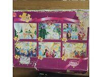 Disney Princess puzzles set of 6 includes various Disney princesses