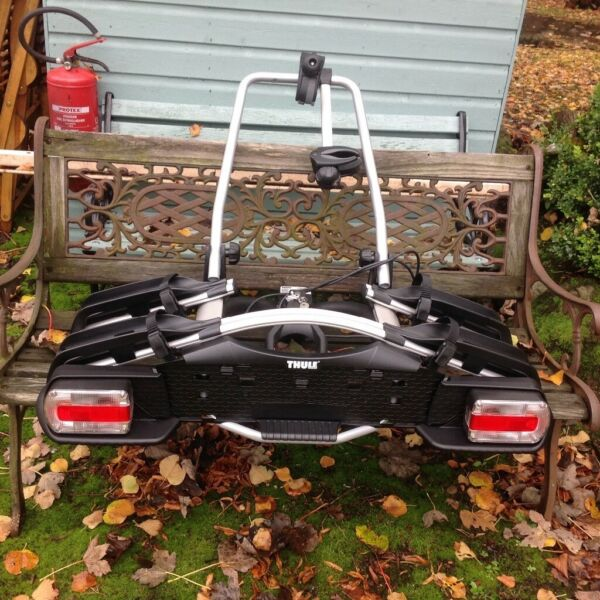 THULE EUROWAY EW G2 921, TWO CYCLE RACK, RARELY USED. COMPLETE WTH INDICATORS, LIGHTS for sale  Newbridge, Scotland