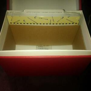 Brand New Recipe Box with index cards Belleville Belleville Area image 2