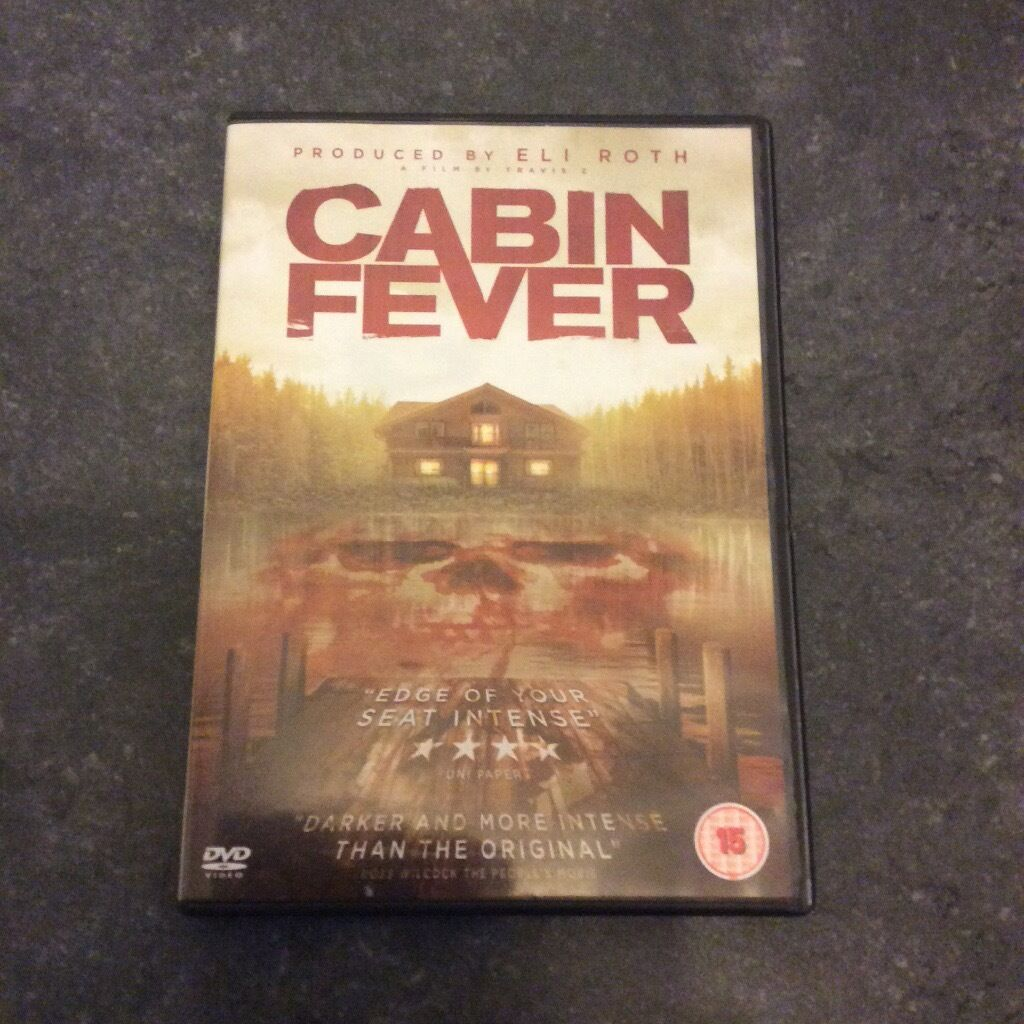 2016 brand new cabin fever remake