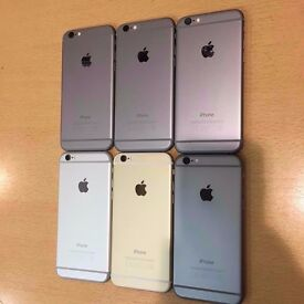 APPLE IPHONE 6 64GB UNLOCKED BRAND NEW CONDITION COMES WITH WARRANTY & SHOP RECEIPT