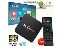 MXQ PRO ANDROID TV BOX. SMART TV HD