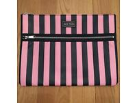 Jack Wills Laptop Case for 13ish inches laptops. Hardly used perfect condition. Pink and Navy.