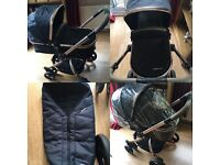 Mothercare Orb Pram/Pushchair Excellent Condition as Hardly Used