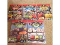 5 x Chuggington DVDs