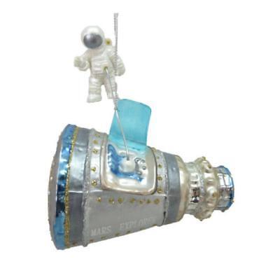 Mars Explorer Glas Ornament 5