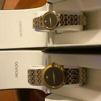 His & Hers Movado Watches