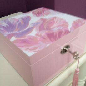 Laura Ashley Pink Jewellery (new, boxed and unused)