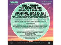 Lunar Festival Weekend Camping Ticket - Goldfrapp & The Stranglers Headlining - 1 Adult