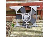 Vauxhall Astra Mk3 engine fan off of 1.8 ecotec