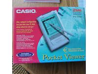 Vintage Casio Pocket Viewer PV-S250 - 2MB