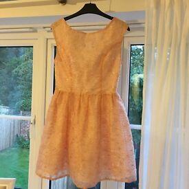 TOPSHOP DRESS size 8 VGC