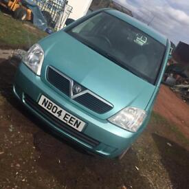 Vauxhall meriva 8v life