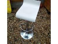 Bargain freezer and 2 stools
