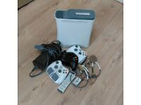 Xbox 360 60GBHDD White Console plus accessories and games