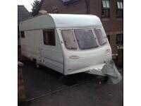 5/6 berth caravan, very good condition, no damp, well worth looking at.
