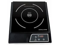 REDUCED ! OPEN TO OFFERS. Andrew James Digital Electric Induction Hob+Induction Cookware Converter