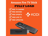 AMAZON FIRE TV STICK ALL NEW AND BOXED FULLY LOADED KODI 16.1 AND MORE £55.00