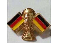 Fifa Rare Trophy Flag Pin Collectible - Germany
