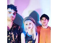 PARAMORE TICKETS x 2 £90
