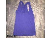 Size 18 purple vest