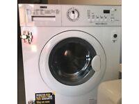 Zanussi integrated washer dryer