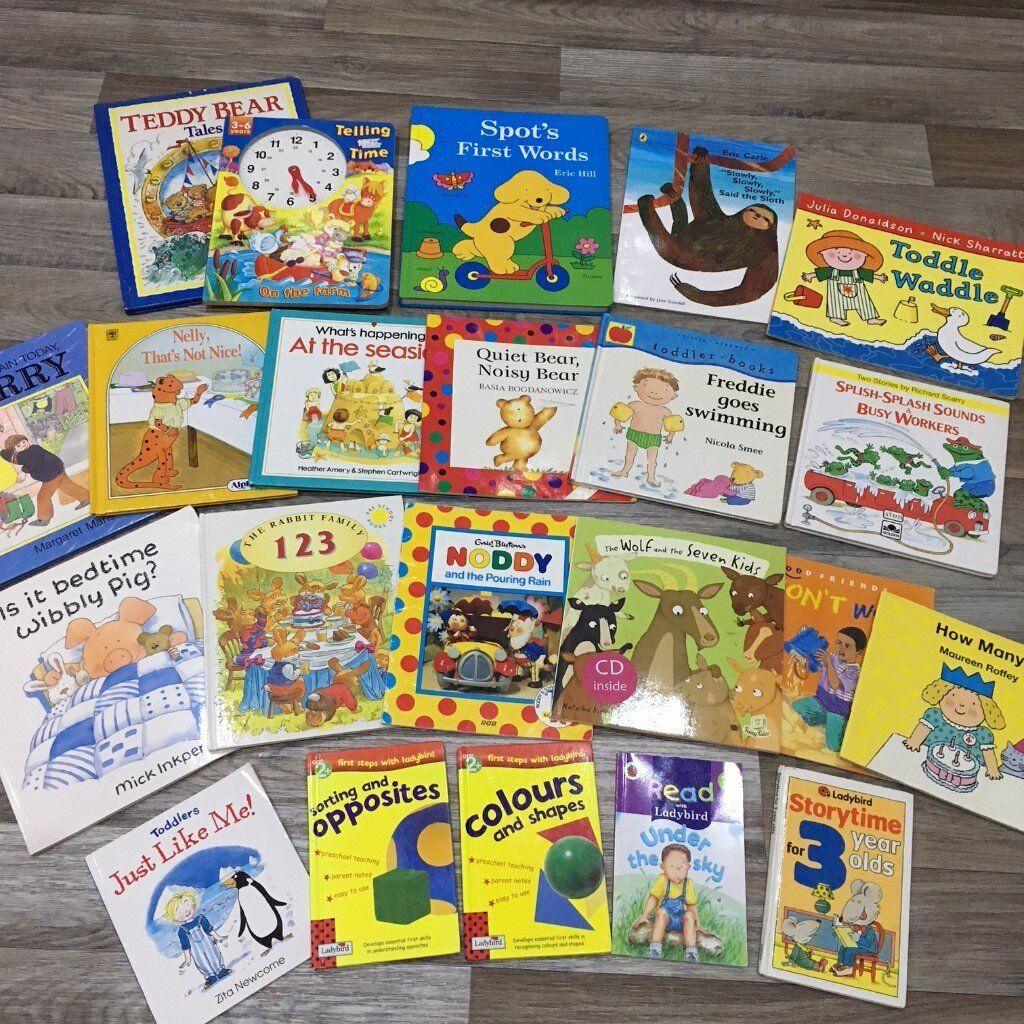 22 x toddler / childrens books