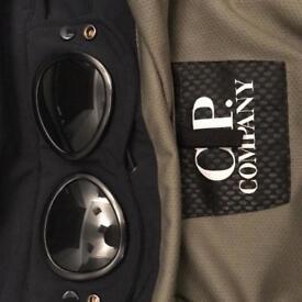 CP Company soft shell goggle jacket