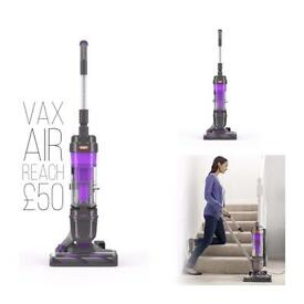 Free delivery vax air reach bagless upright vacuum cleaner