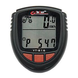 Bicycle Odometer Computer Bike Speedometer / Stopwatch