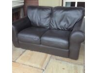 FREE TO COLLECTOR, SOFA, TWO TUB CHAIRS AND GEORGE FOREMAN GRILL