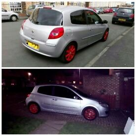 Renult clio red alloy wheels 15 inch