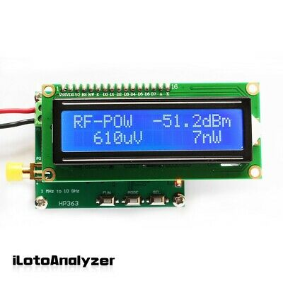 Rf Power Meter 1mhz To 10ghz Settable Attenuation Value For Radio Instrument
