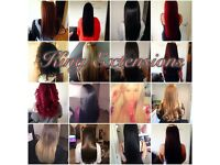 Weaved and Bonded hair extensions unbeatable service and price!