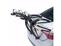 Saris Bones 3 Car Bike Rack in Black. LIKE NEW!