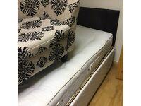 Adjustable single bed electric remote