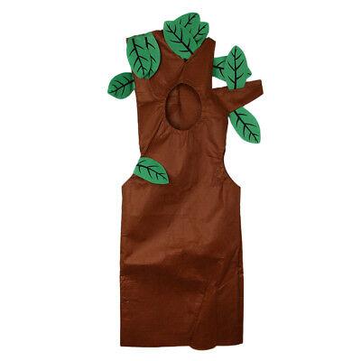 Vliesstoff Wald Pflanze Outfit Party Fancy Dress (Baum Kostüm)