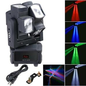 120W RGBW Double Hot Wheel LED Moving Head DMX 512 DJ Lighting - Stage Light
